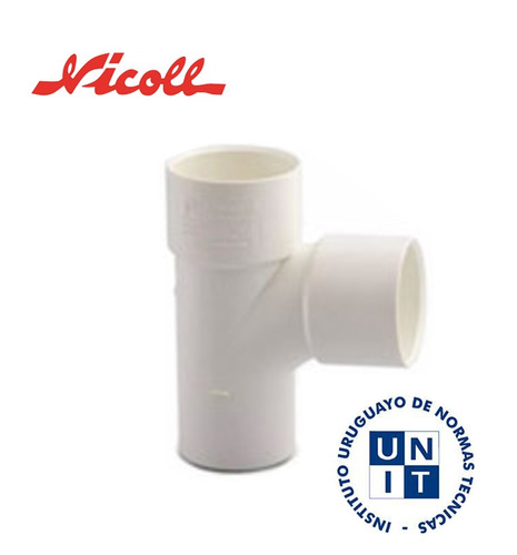 Tee PVC 63 M/H NICOLL