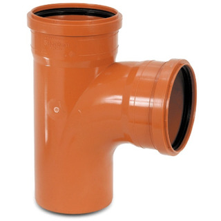 Tee PVC 110 M/H REDI -  NICOLL