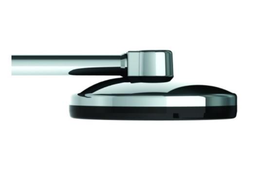 Brazo con Roseta VALE MAXI - 90mm - Metalizada